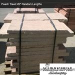 Peach Tread 20 inch Random Lengths - Maranatha Landscape Bakersfield